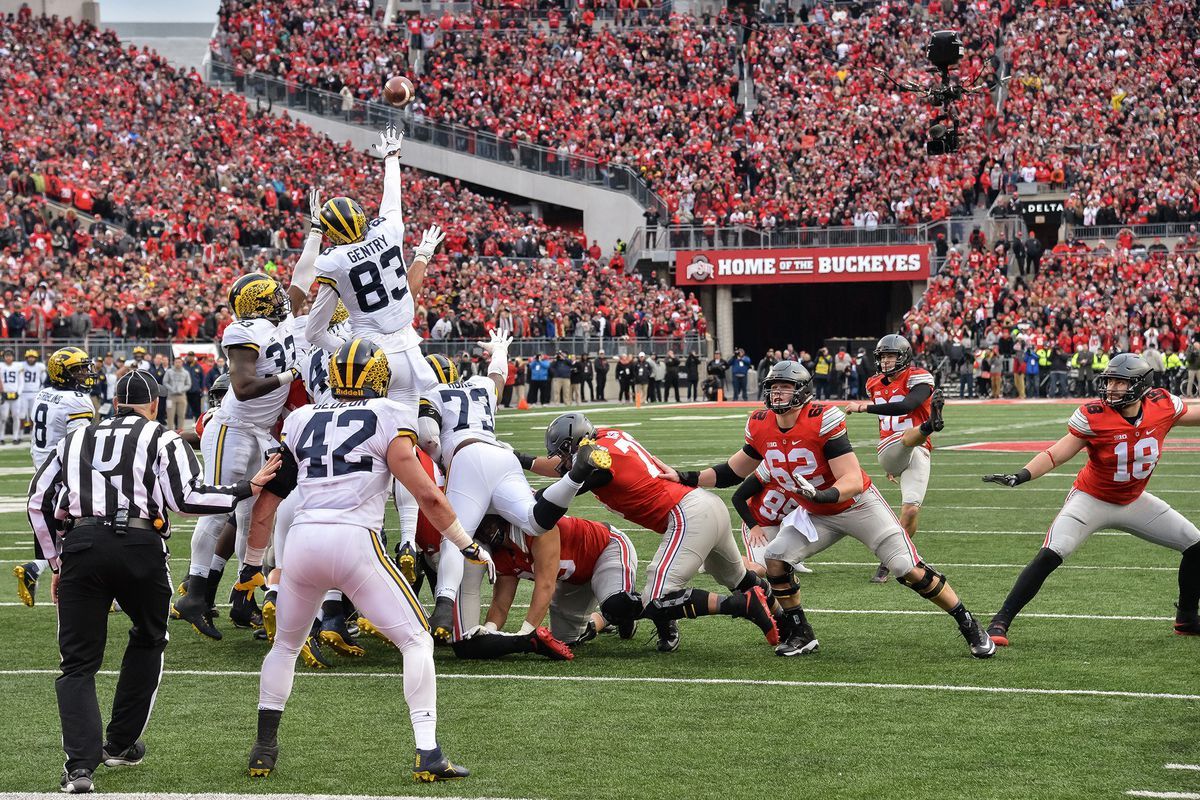 Saturday's Michigan–Ohio State game (GettyImages)