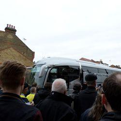 Norwich Bus Arrives