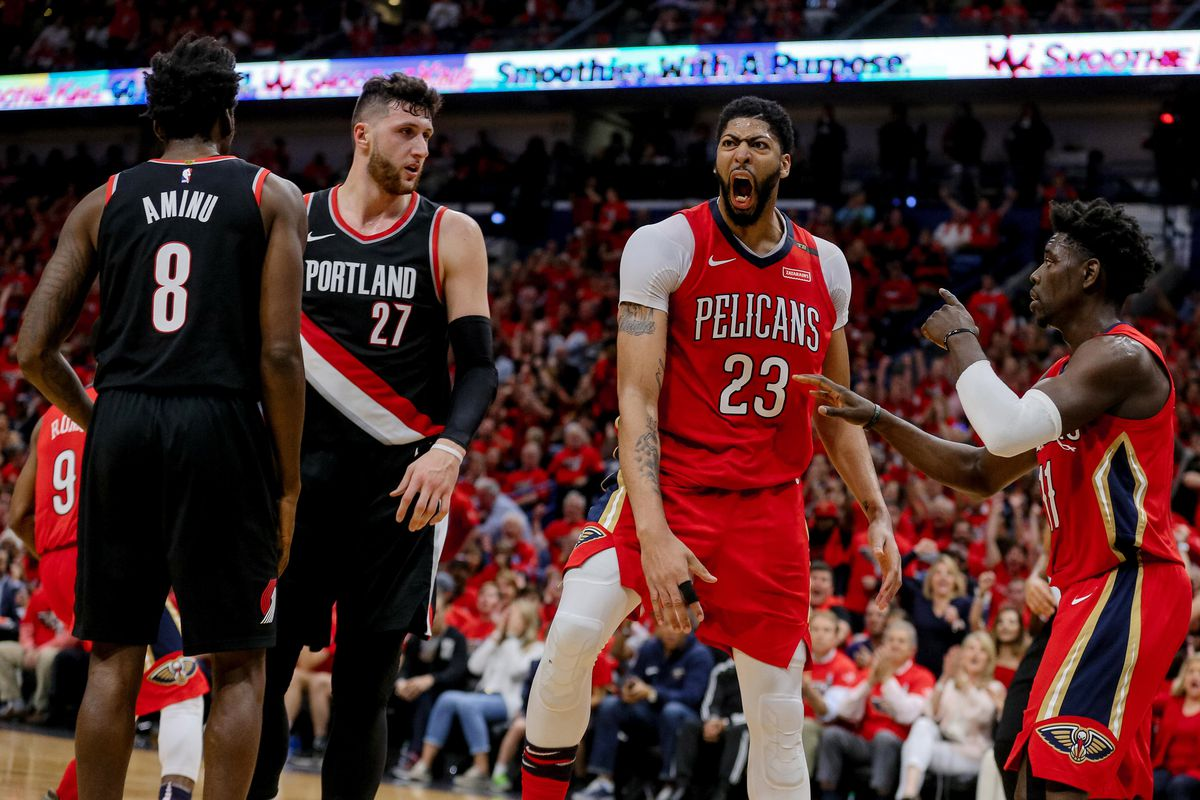 official photos 17169 2fc75 2018 NBA Playoffs: New Orleans Pelicans complete sweep of ...