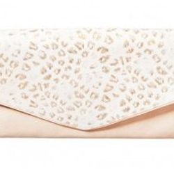 """<b>See by Chloé</b> <a href=""""http://otteny.com/catalog/sale/sale-bags/leo-party-clutch-in-pearly.html"""">Leo Party Clutch</a>, $118.50 (was $395)"""