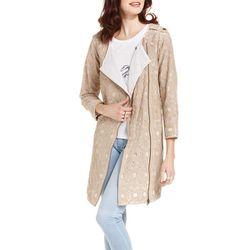 "<b>Rachel Rachel Roy</b> Three-Quarter Lace Trench in khaki, <a href=""http://www1.macys.com/shop/product/rachel-rachel-roy-coat-three-quarter-lace-trench?ID=814322&PseudoCat=se-xx-xx-xx.esn_results"">$179</a> at Macy's"