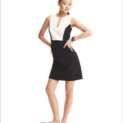 """<a href=""""http://www1.macys.com/campaign/social?campaign_id=202&channel_id=1&cm_sp=fashionstar-_-episode10-_-homepagelink&bundle_entryPath=/karaGallery"""">Fashion Star Dress, Sleeveless Caprice Tuxedo Shift</a>, $79 at Macy's"""