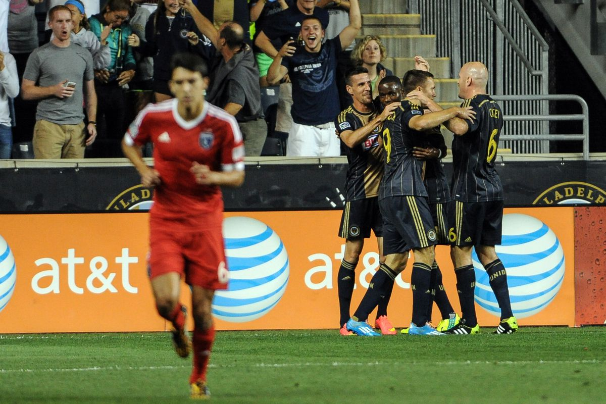 Run away, Shea Salinas; nobody wants you on their fantasy team when they could have Sebastien Le Toux.