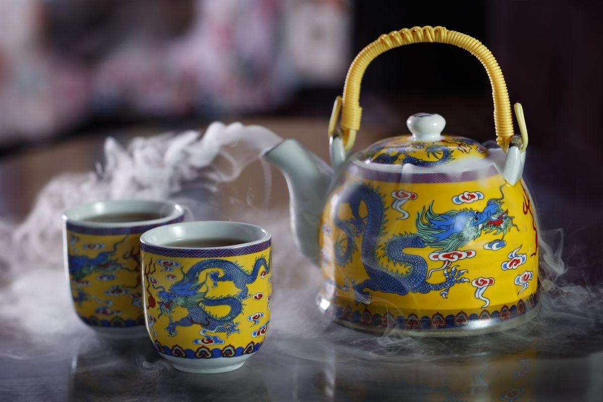 Yu Gardens cocktail at China Tang