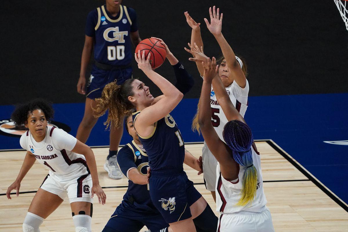 NCAA Womens Basketball: Sweet Sixteen-Georgia Tech at South Carolina