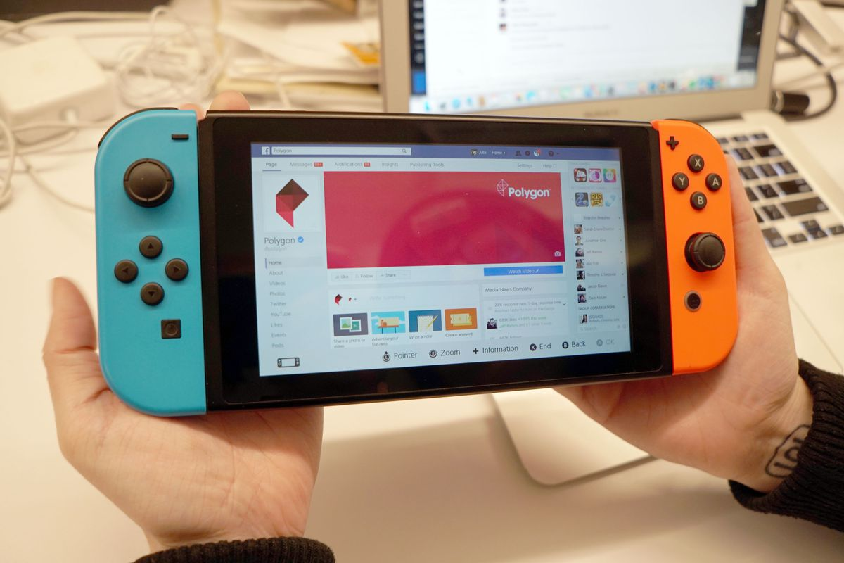 How To Access Facebook And Twitter On Your Switch Without A Browser Polygon