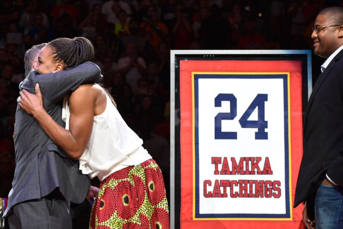 Tamika Catchings, jersey retirement