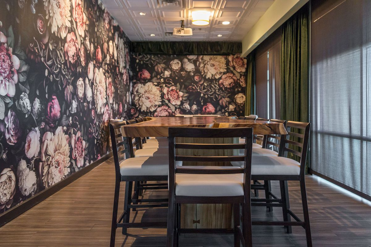 The private dining room at The Stove