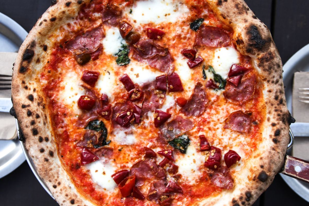 The Inferno with Calabria peppers and spicy soppressata
