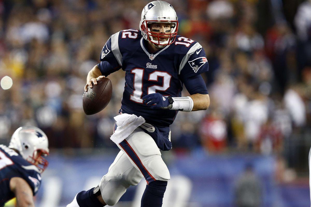 Take it on the run, Brady