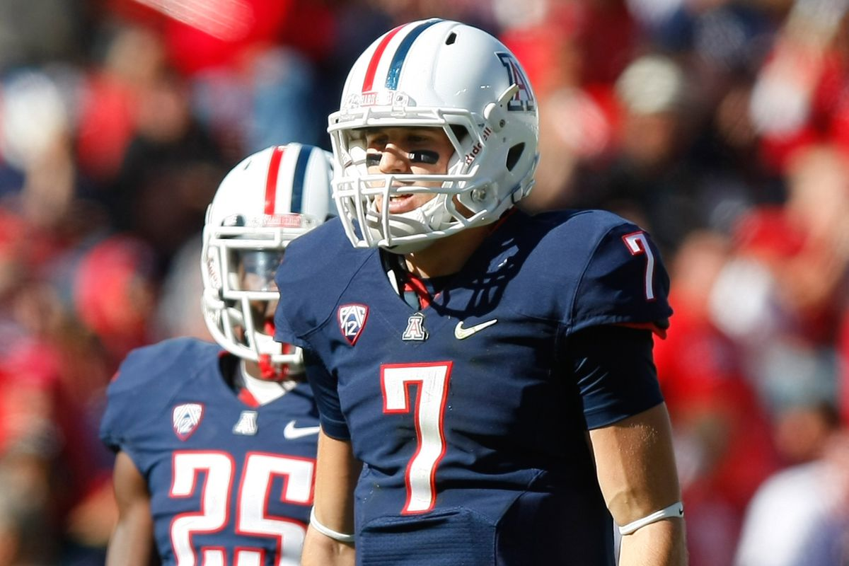 B.J. Denker has been named the starting quarterback for the Arizona Wildcats against Northern Arizona