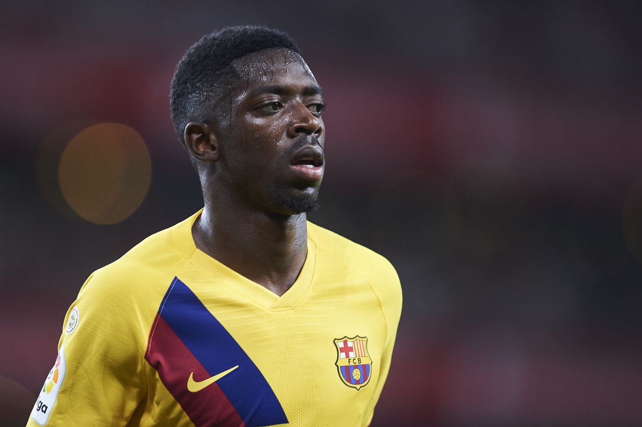 Dembele ruled out for five weeks with hamstring injury
