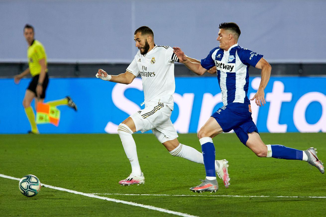 Player Ratings: Real Madrid 2 - Alaves 0; 2020 La Liga