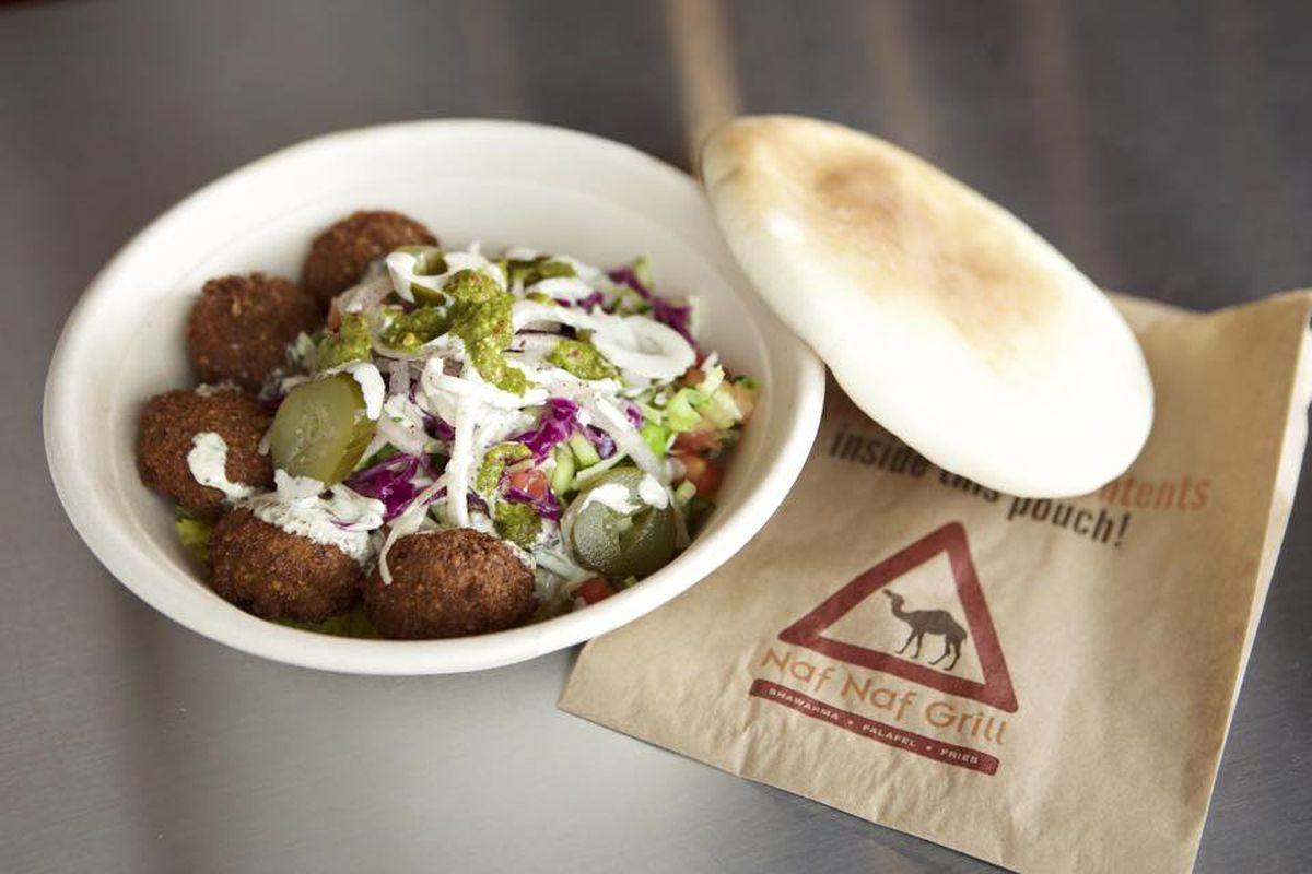 Naf Naf Grill food
