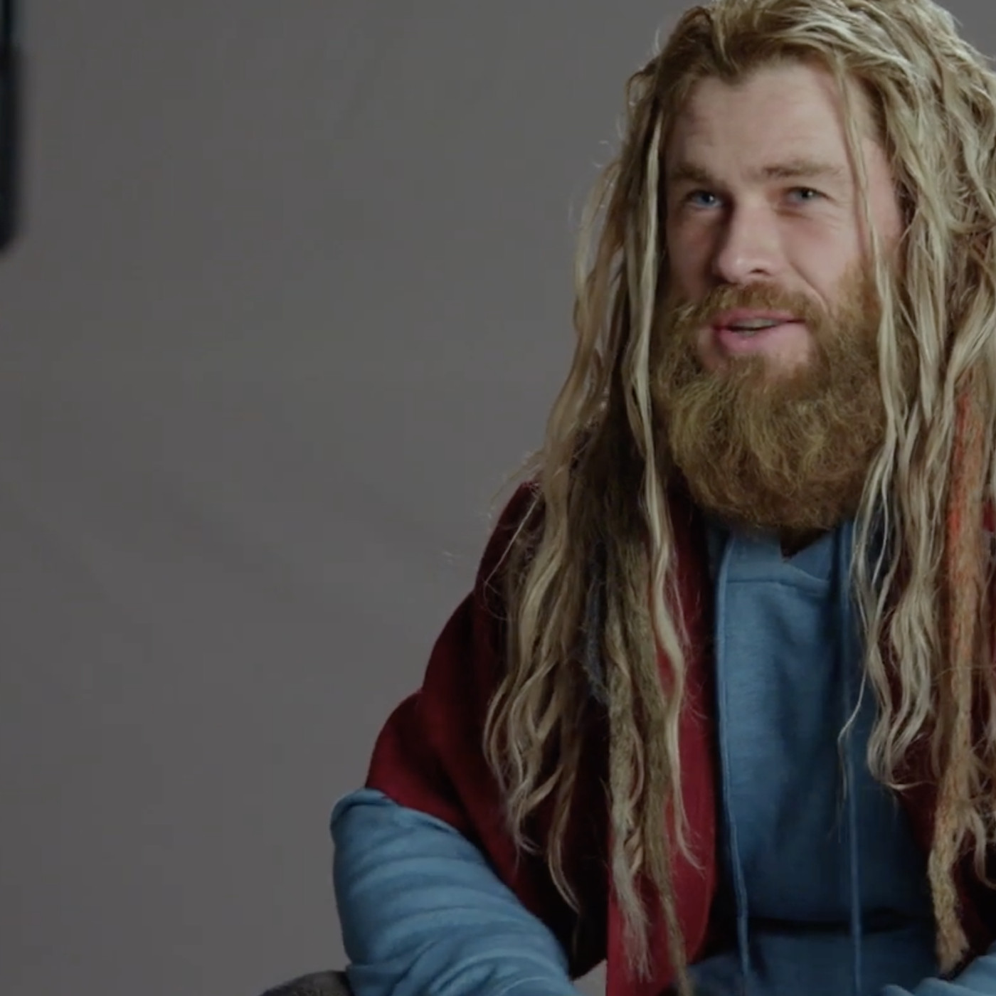 Behind The Scenes Avengers Endgame Footage Shows Thor S