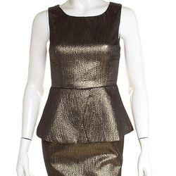 "<strong>Ark & Co.</strong> Sleeveless Metallic Peplum Dress at <strong>Bobbles & Lace</strong>, <a href=""http://shop.bobblesandlace.com/F12-DRS-15331.html"">$92</a>"