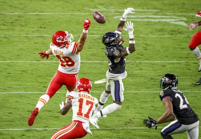 NFL: SEP 28 Chiefs at Ravens
