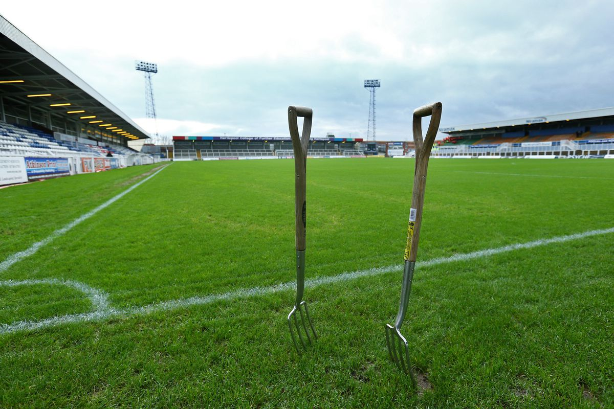 Hartlepool United v Derby County - The Emirates FA Cup Third Round