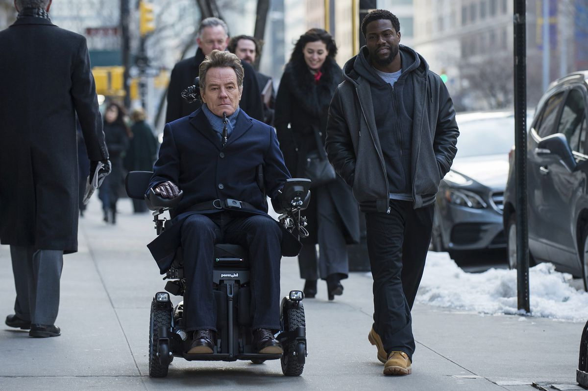 Cranston and Hart in The Upside