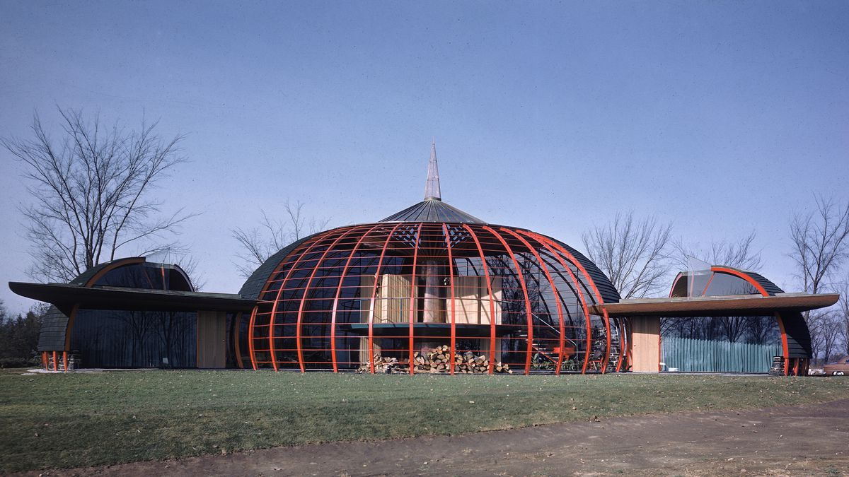 Organic Architecture bruce goff: organic architecture and folk art fantasies - curbed