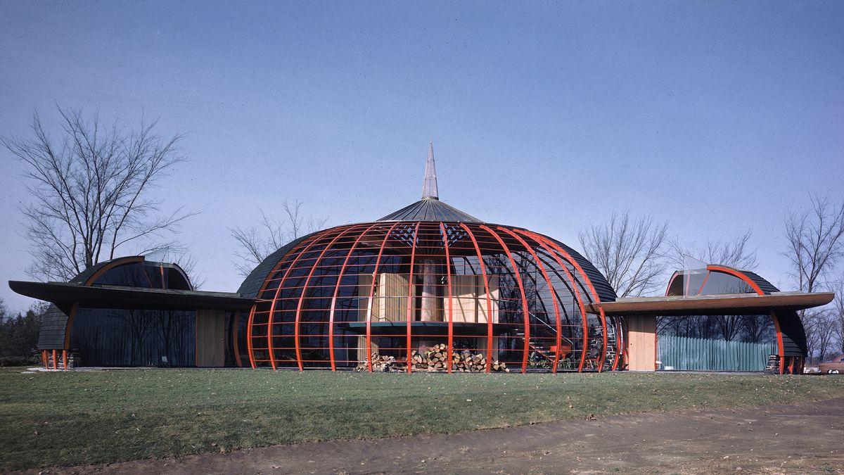Bruce Goff Organic Architecture And Folk Art Fantasies