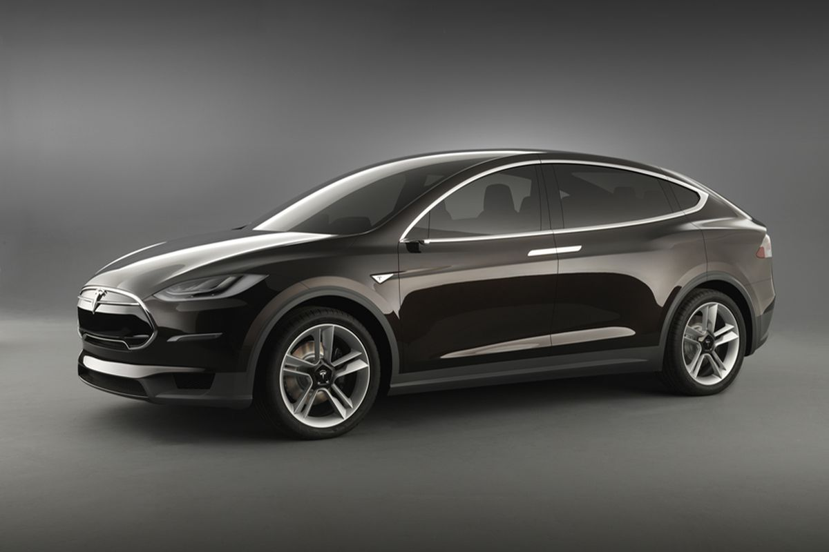 Tesla model x crossover electric vehicle coming in 2013 starts at tesla model x 4 malvernweather Image collections