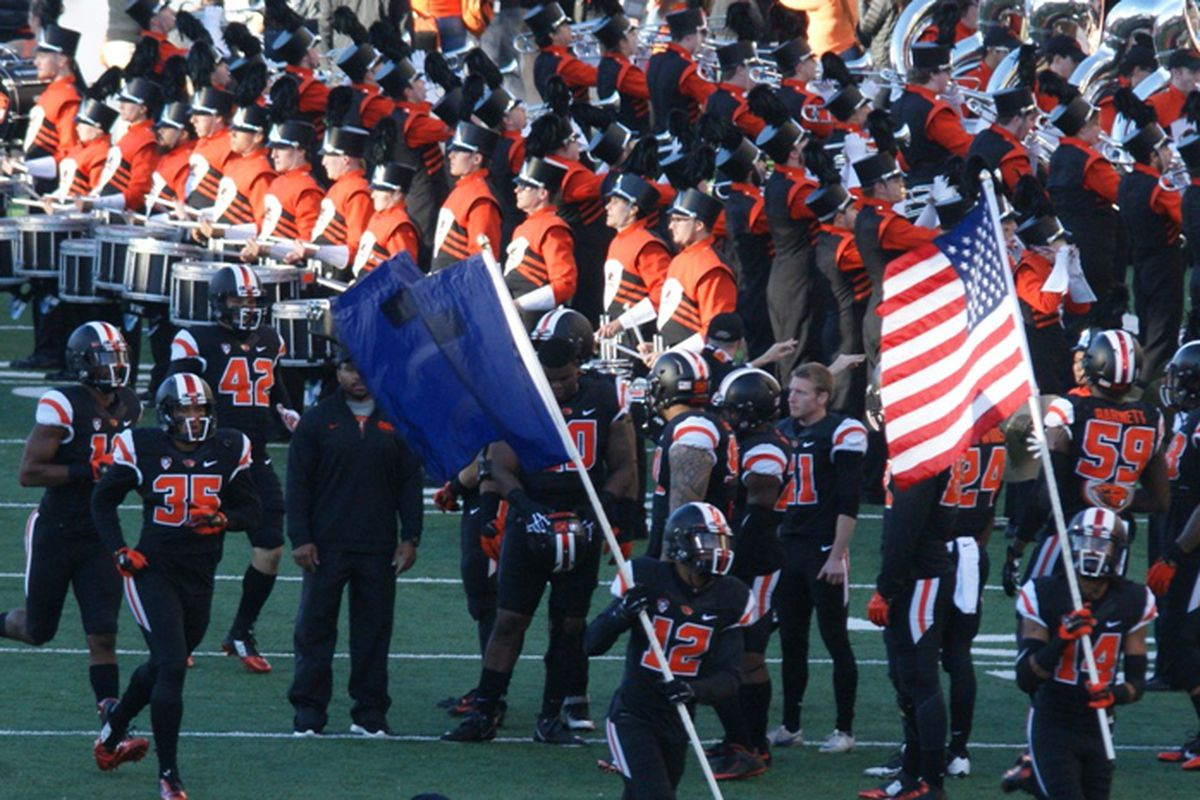 Oregon State will sprint into Reser Stadium twice in September, and 7 times this fall.
