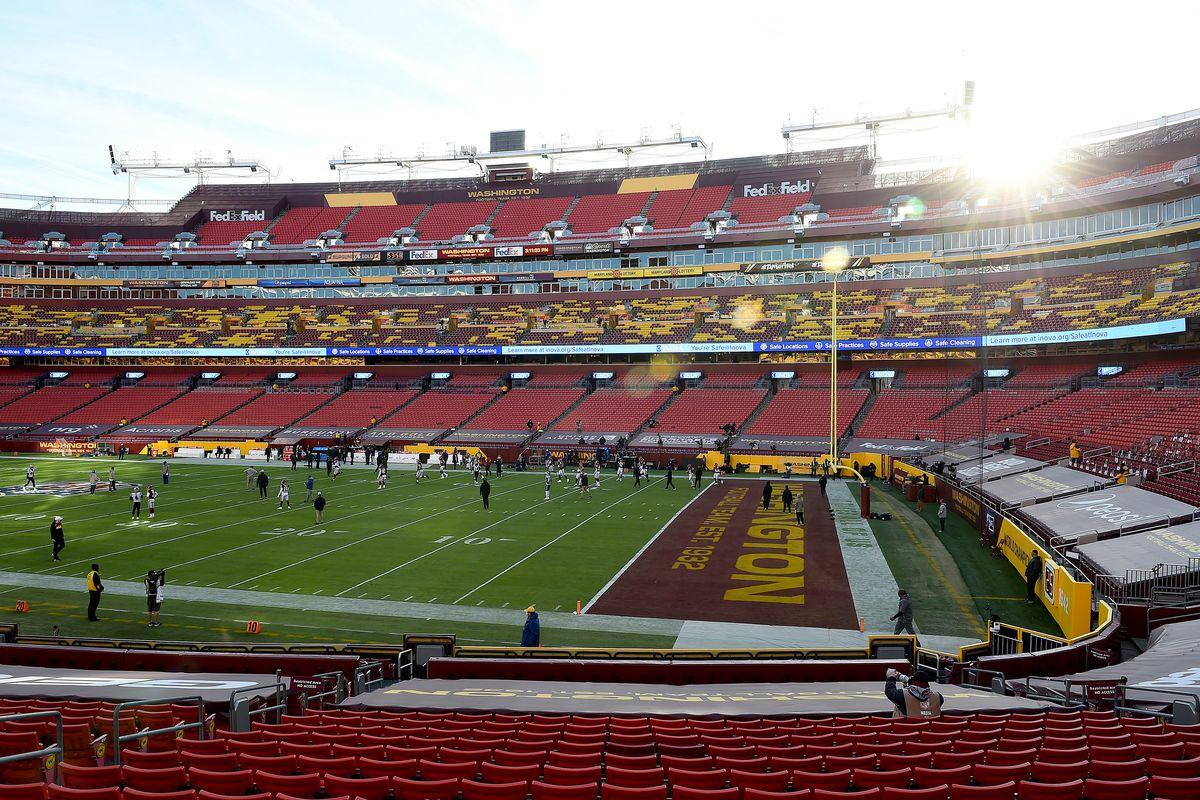 Carolina Panthers v Washington Football Team