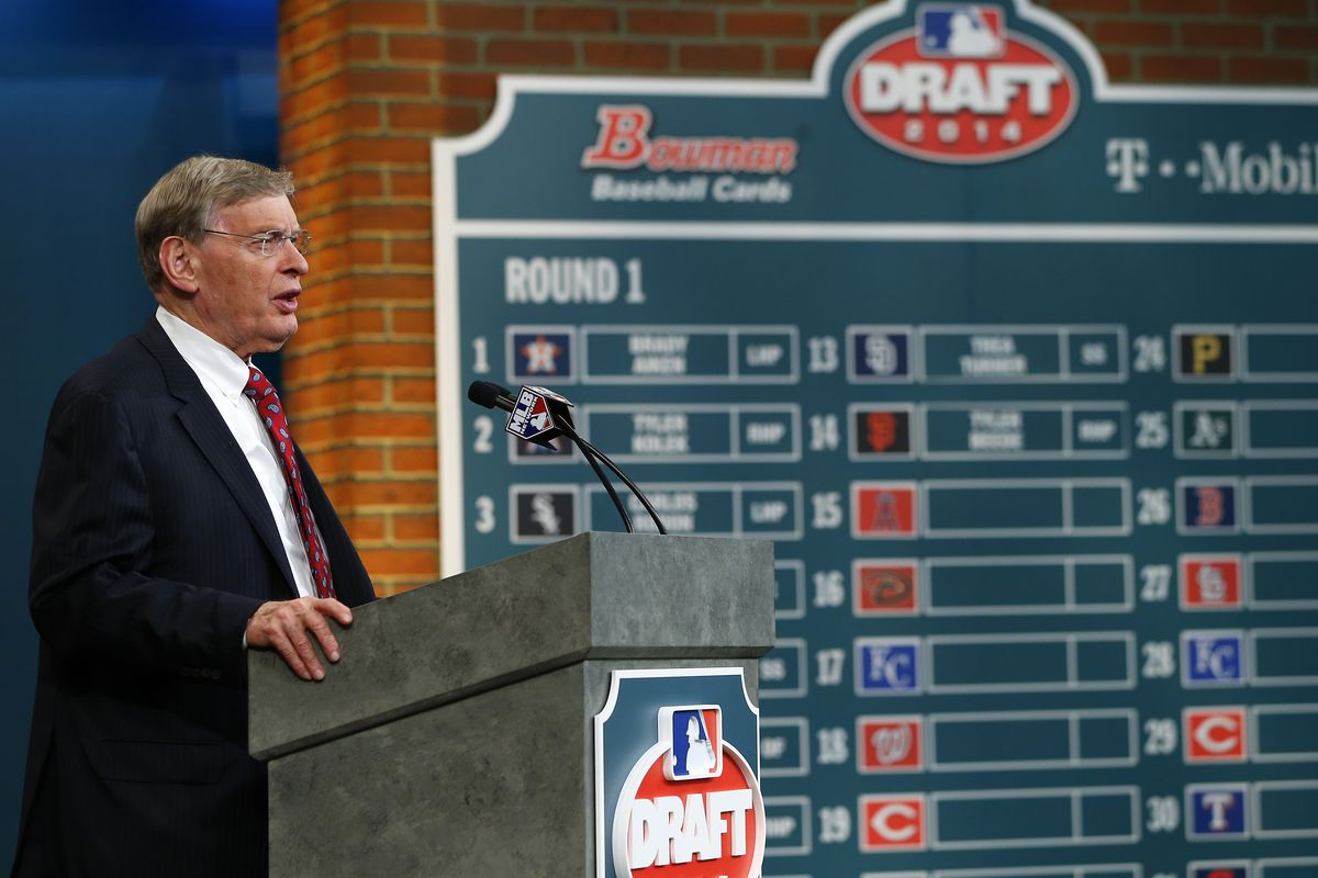 New draft board, new commissioner, but memories, right?