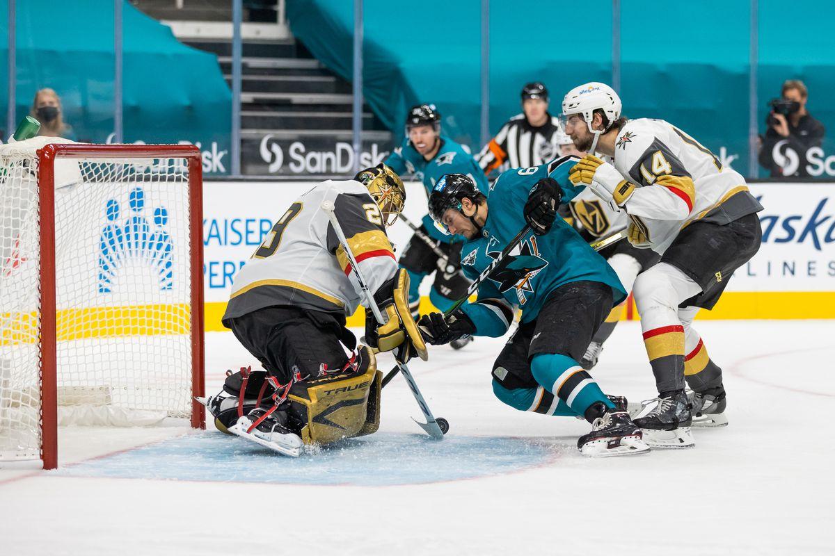 NHL: FEB 13 Golden Knights at Sharks