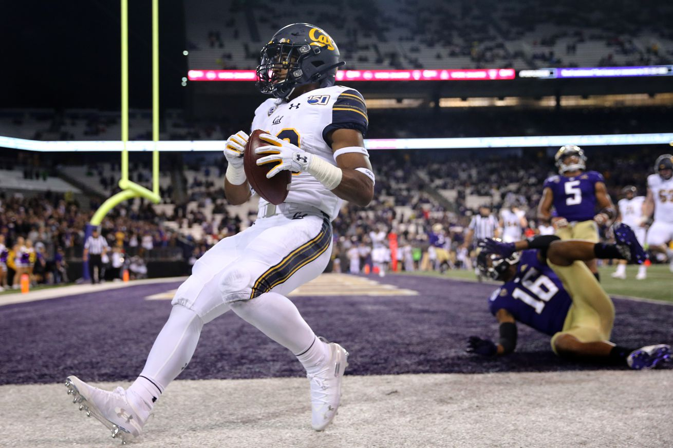 Cal Running Back Marcel Dancy selected to 2019 Allstate AFCA Good Works Team®