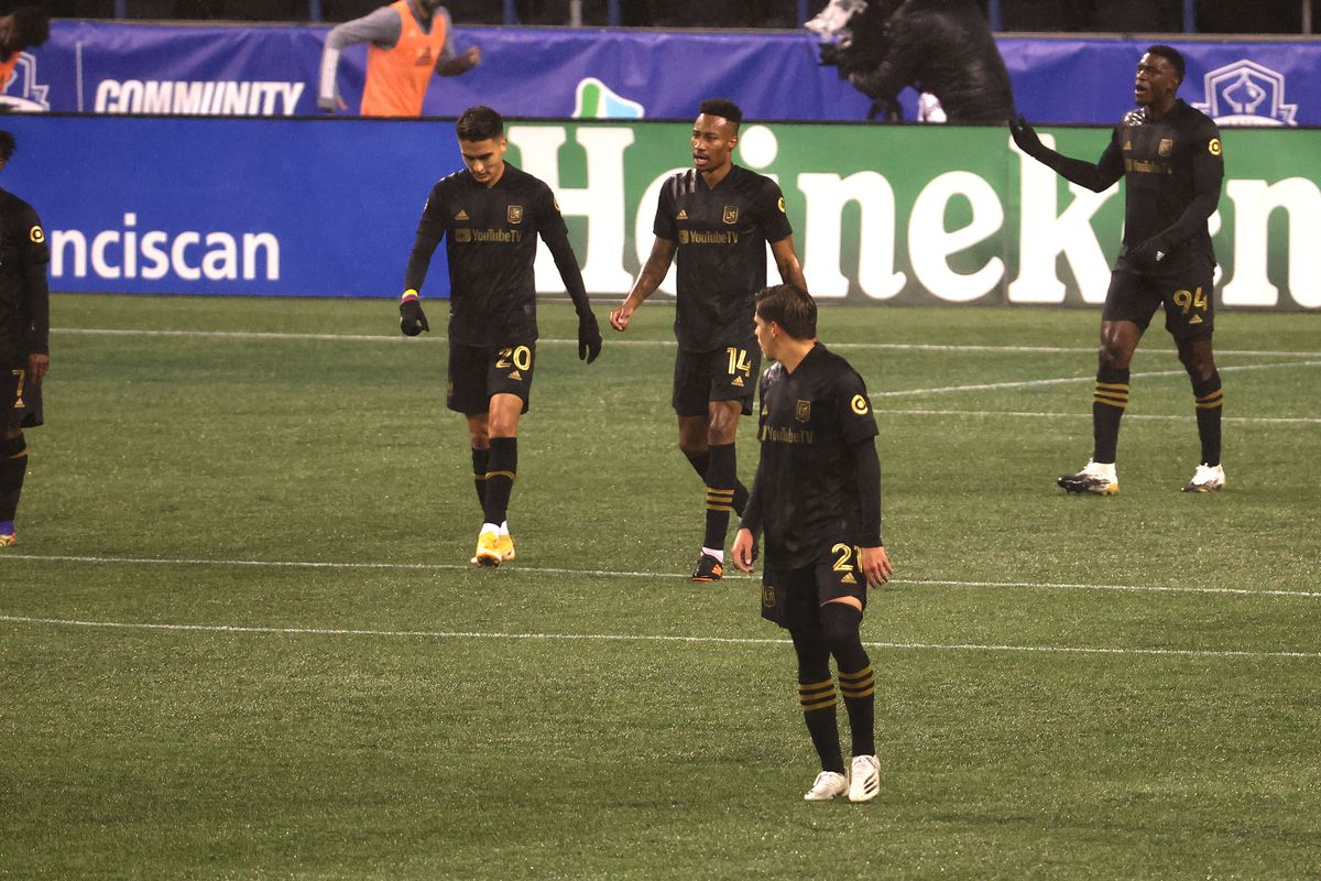 Los Angeles FC v Seattle Sounders: Round One - MLS Cup Playoffs