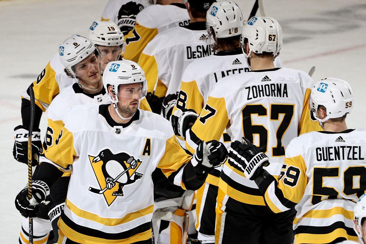 Pittsburgh Penguins v New Jersey Devils