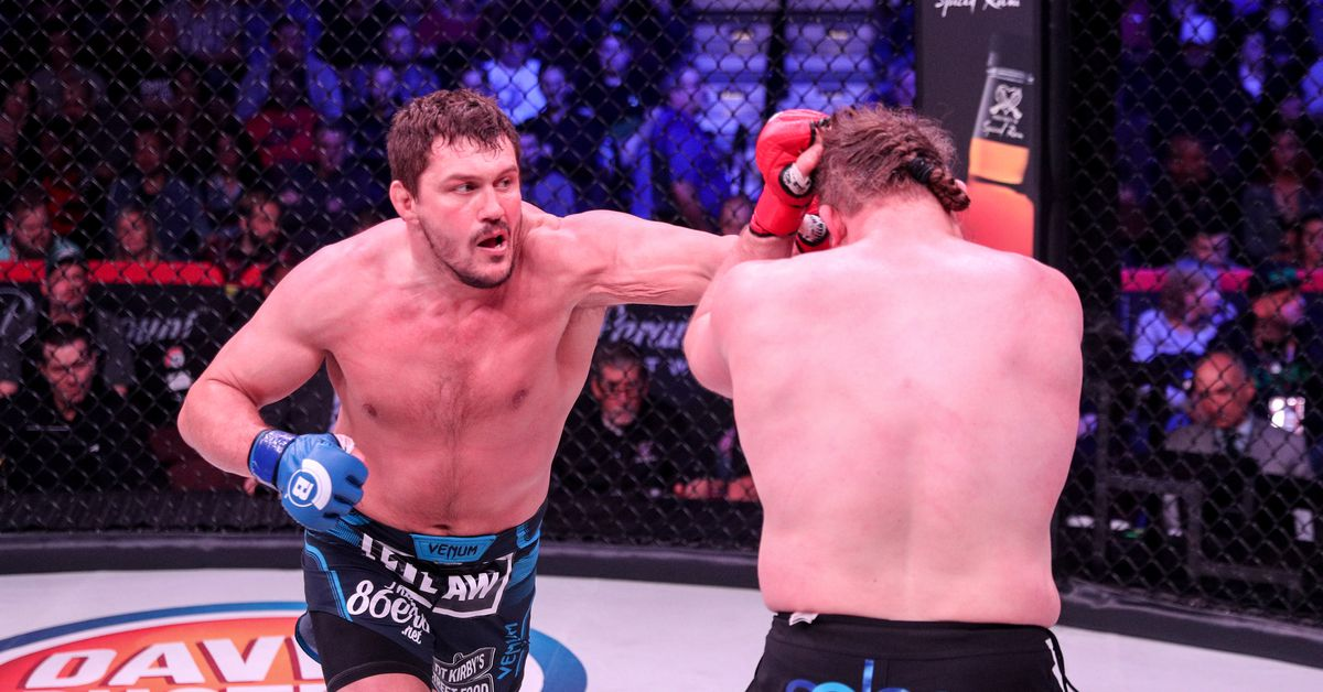 Matt Mitrione blasts 'dirtbag' Roy Nelson for 'cheating' in the third round at Bellator 194