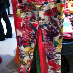 We loved these floral capri pants ($176).