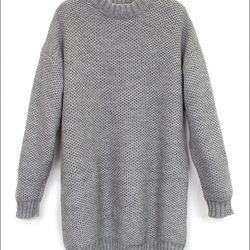 "Suzanna Rae 'Honeycomb' sweater dress, <a href=""http://www.spiritualameri.ca/clothing/dresses/oversized-sweater.html"">$380</a> at Spiritual America"