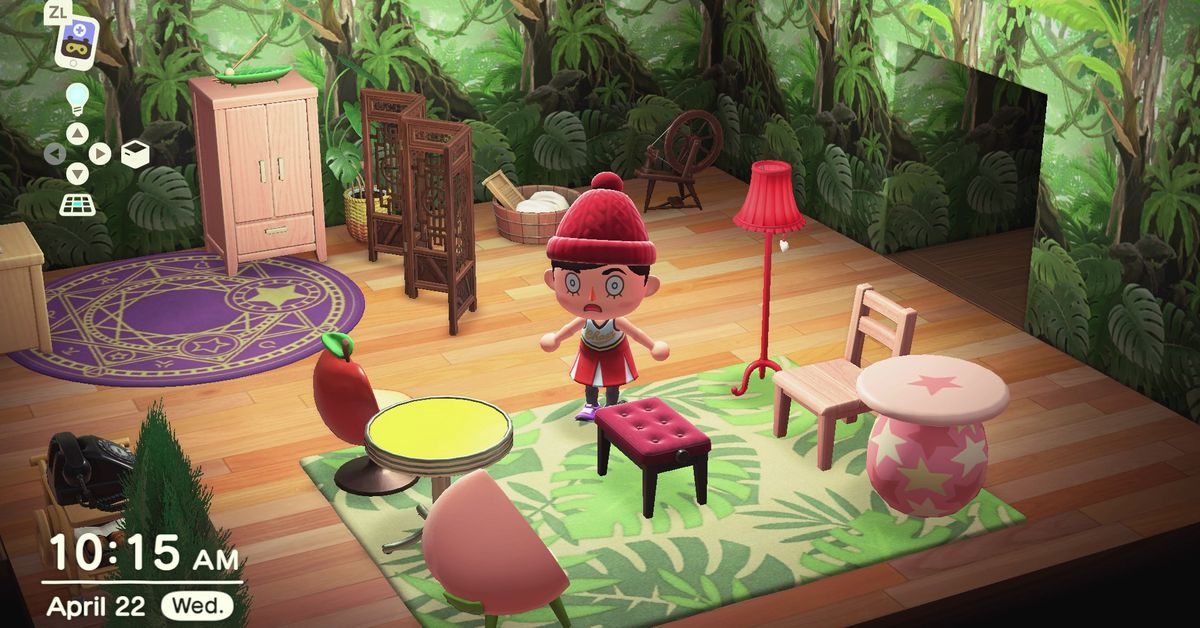 Animal Crossing: New Horizons house design tips - Polygon on Animal Crossing Room Ideas New Horizons  id=57680
