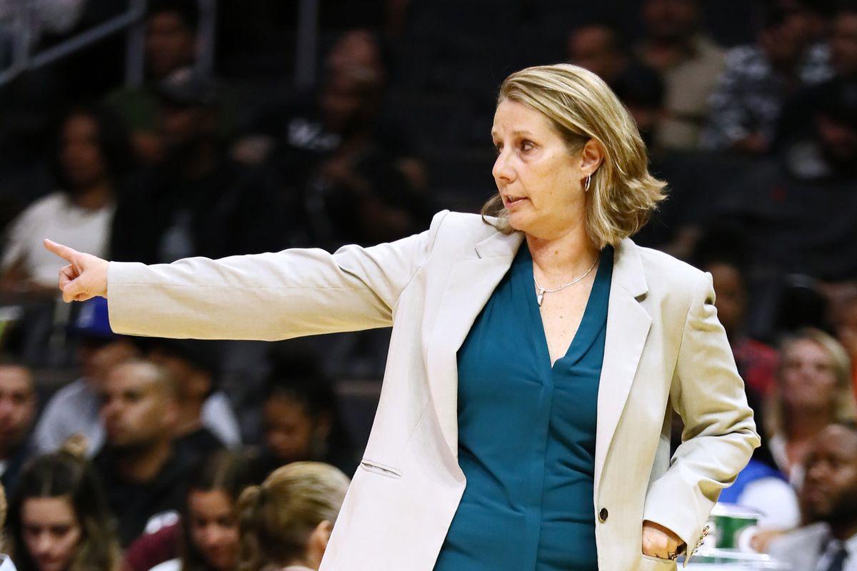 Minnesota Lynx v Los Angeles Sparks, Cheryl Reeve, Minnesota Lynx, 2019 WNBA Basketball Executive of the Year