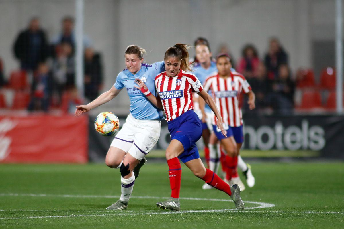 Women's Champions League: Atletico De Madrid V Manchester City