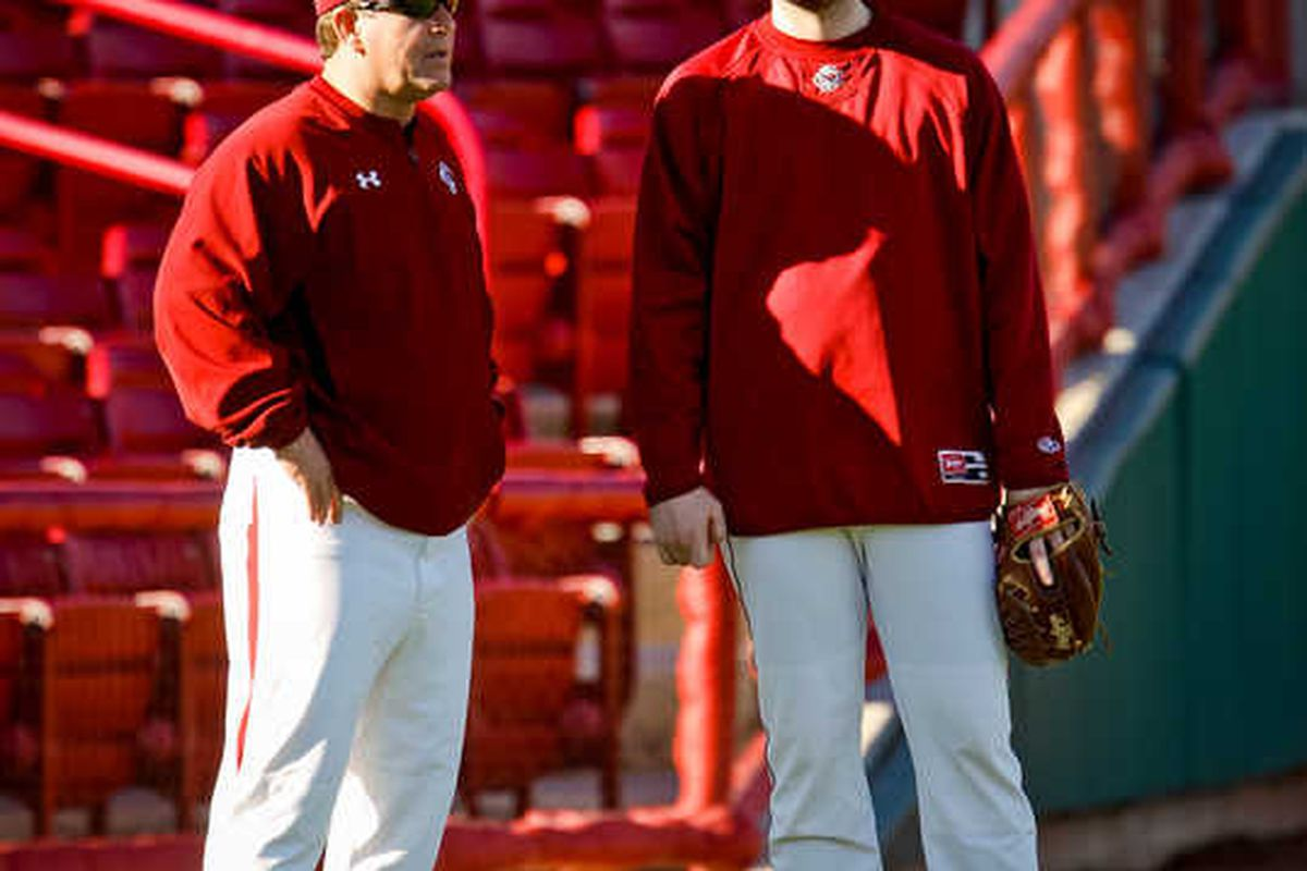 <em>Ray Tanner and Matt Price: Gearing up for another CWS run?</em>