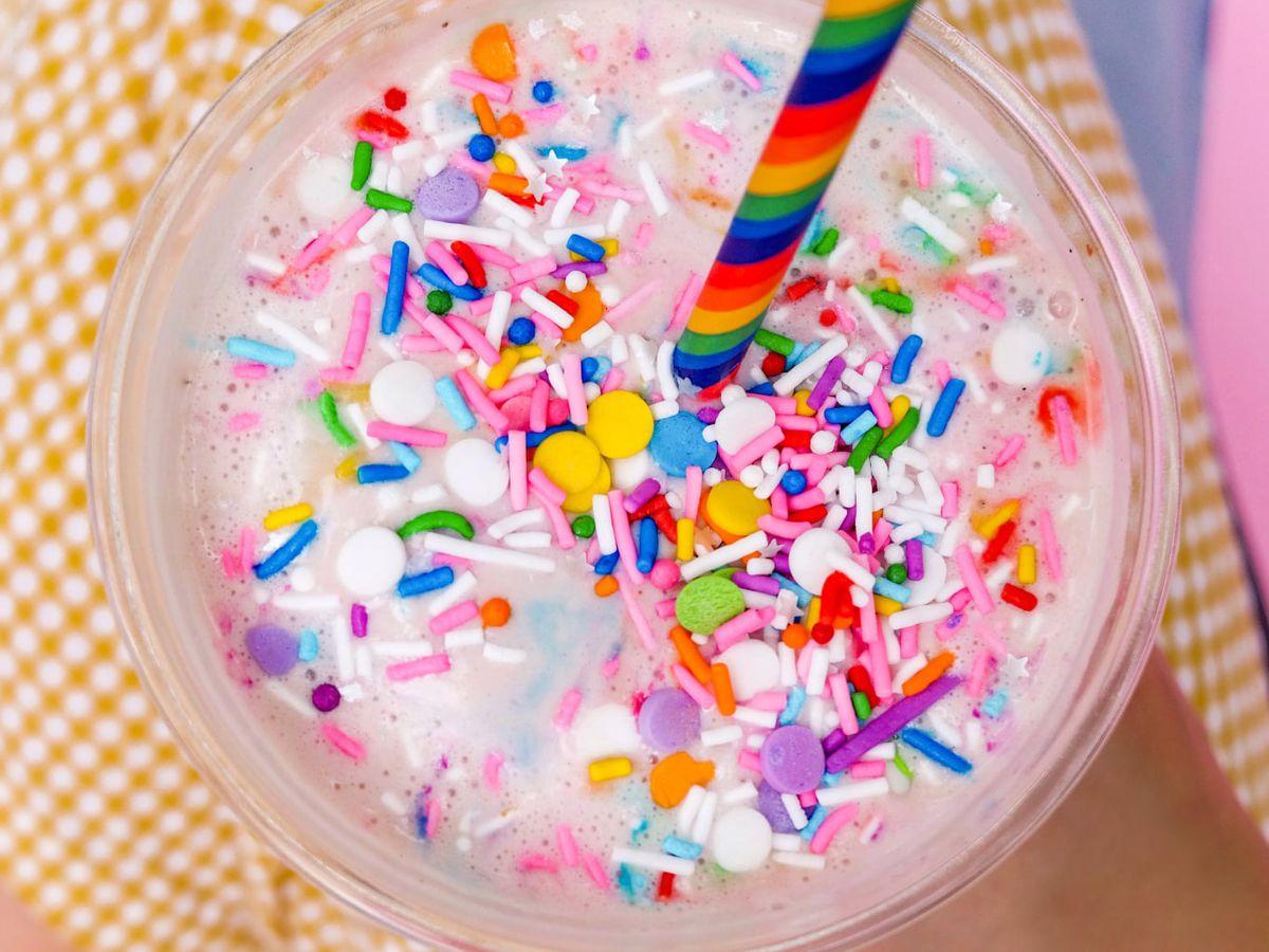A rainbow shake from HipCityVeg