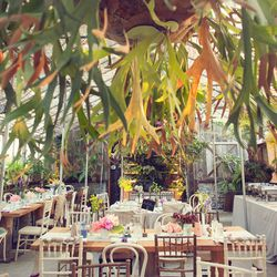 """Let's begin with the venue. No local place can match the cultivated charm of <a href=""""http://www.shopterrain.com/glen-mills-private-events"""">Terrain at Styers</a>, Urban Outfitters' garden/home store in Glen Mills.  Who wouldn't want to tie the knot under"""