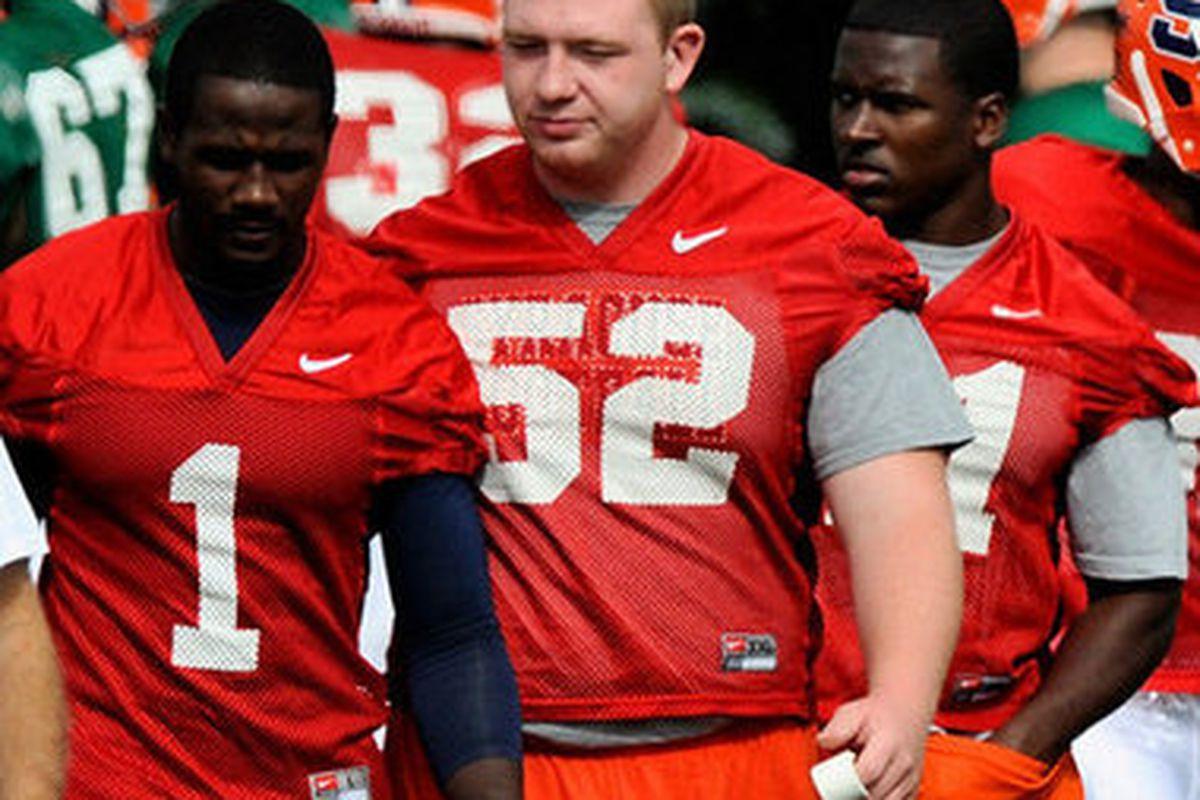 "Ollie Haney, also known as ""Big O"" via <a href=""http://blog.syracuse.com/orangefootball/2011/03/shoulder_injury_puts_syracuse.html"">syracuse.com</a>"