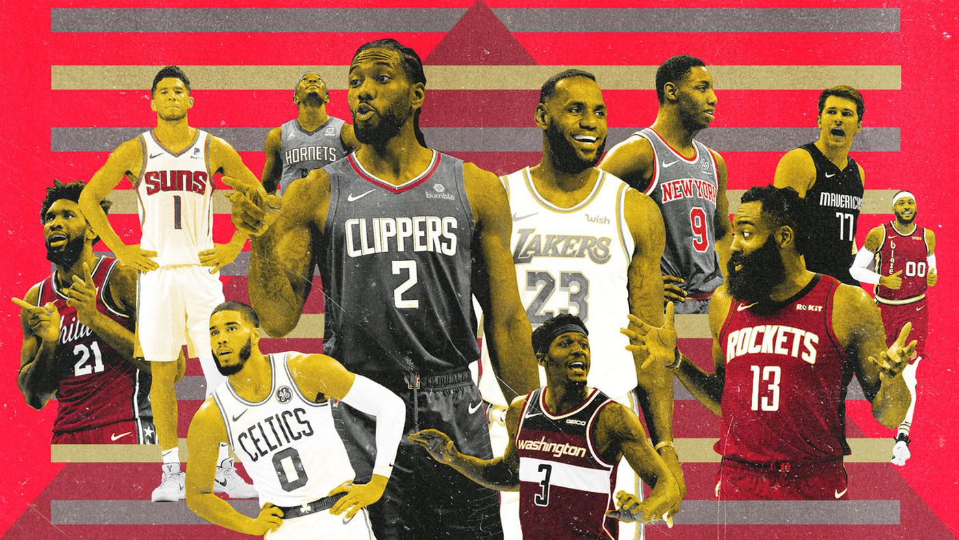 The NBA in Tiers