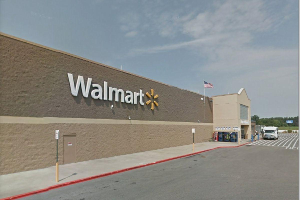 The Walmart in Olney, Ill.