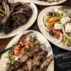 Greek food at Spectrum in Greektown.   Ji Suk Yi/ Sun-Times