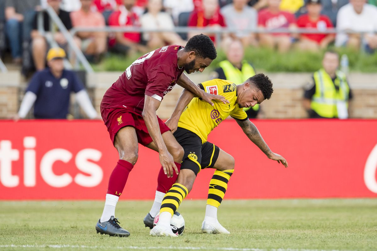 Borussia Dortmund v Liverpool