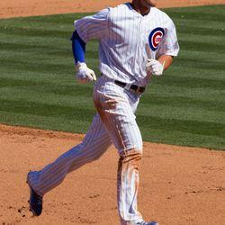Bryant's home-run trot -