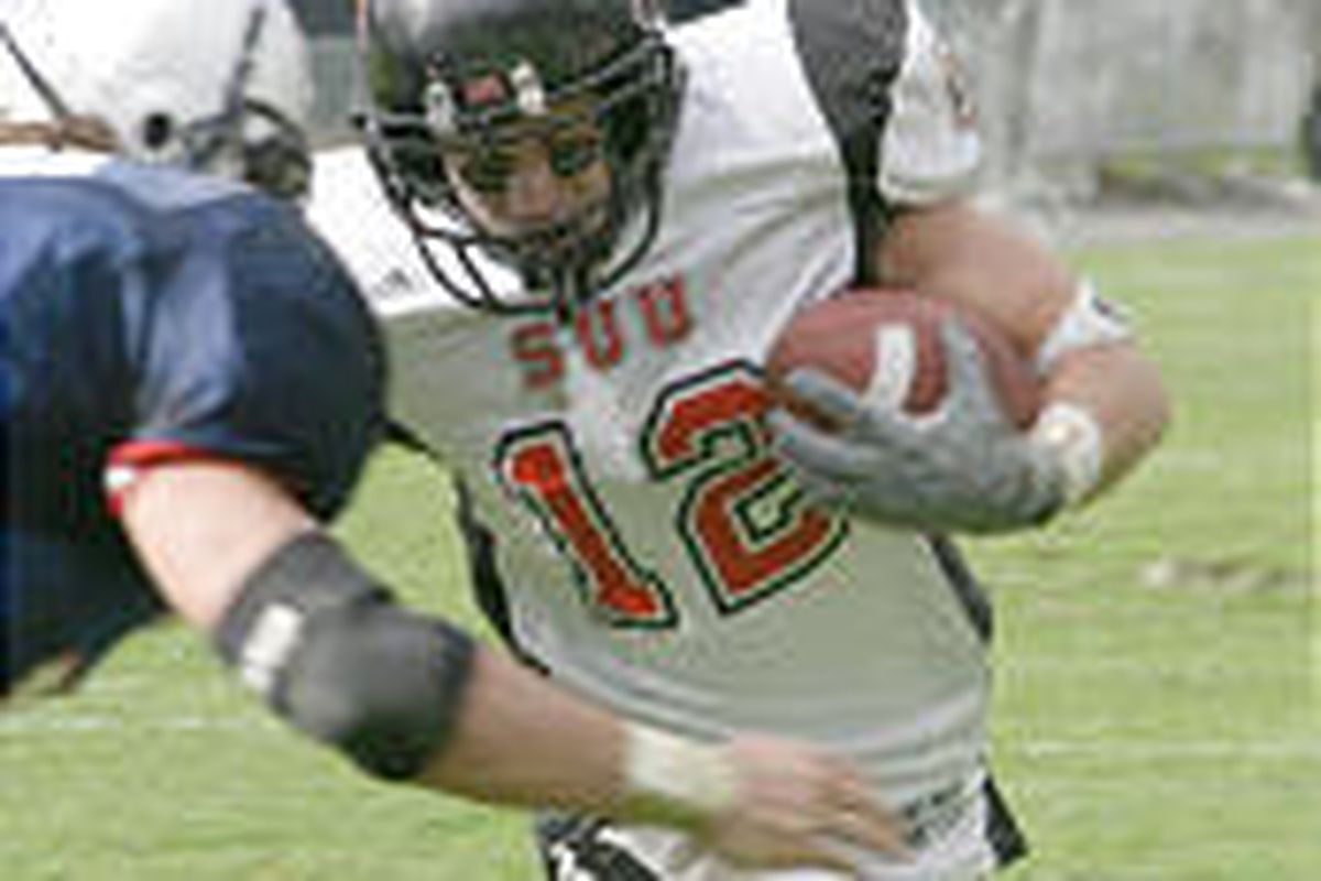 SUU's Justin Walterscheid has a strong football pedigree. His father, Leonard, was a two-time All-American for the T-Birds.