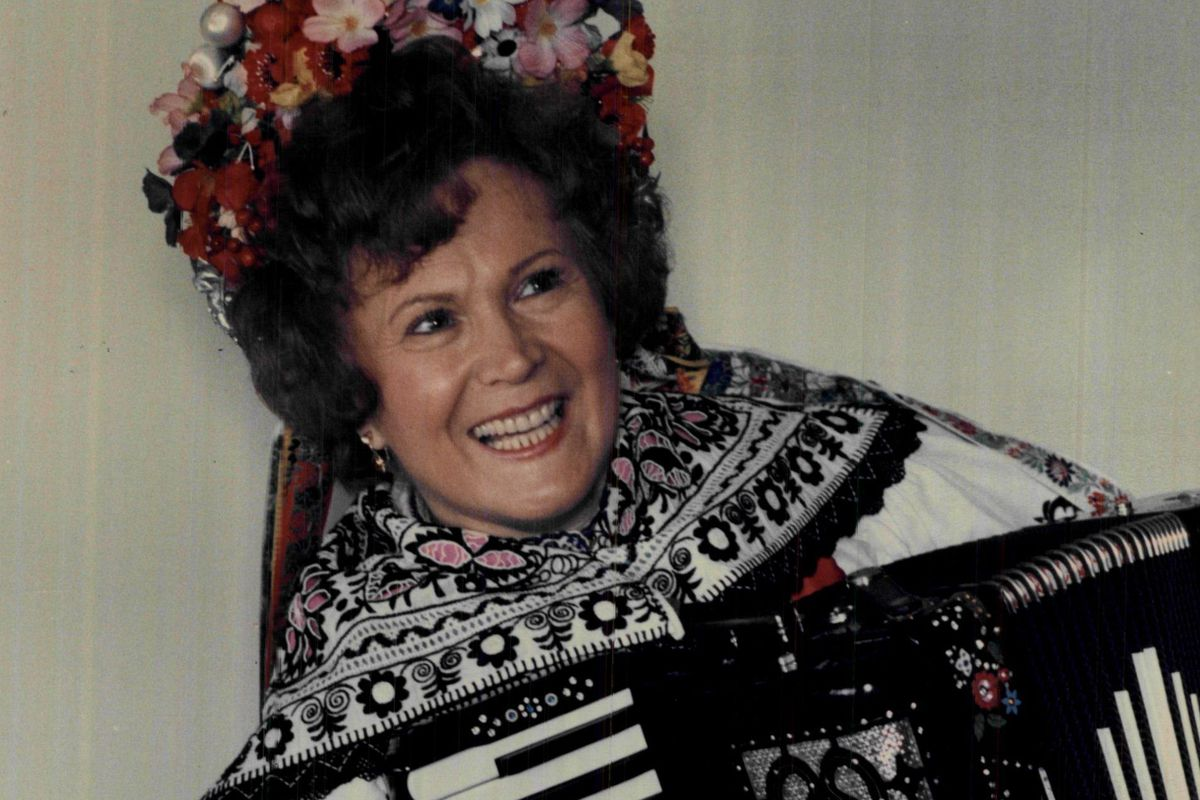 """Vlasta Krsek, known as the """"International Queen of Polka,"""" also ppeared on TV and in """"Ferris Bueller's Day Off."""""""